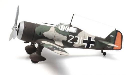 Fokker D.XXI 231 Captured