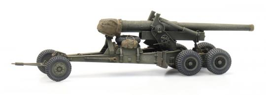 155 mm M1 Long Tom - Transport Mode