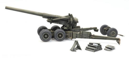 155 mm M1 Long Tom - Firing Mode