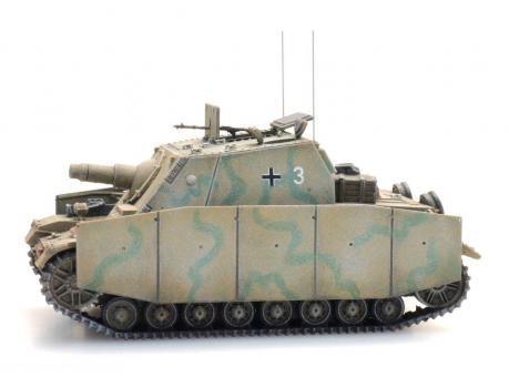 Sturmpanzer IV Brummbär - Tarnung