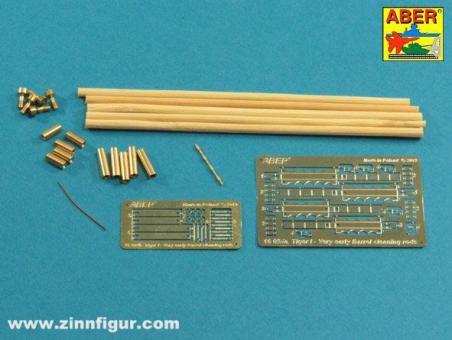 Rohrreiniger mit Halterungen für Tiger I - Sehr frühes Modell 1240 mm