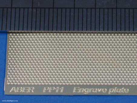 Riffelblech Muster 11 - 88 x 57 mm