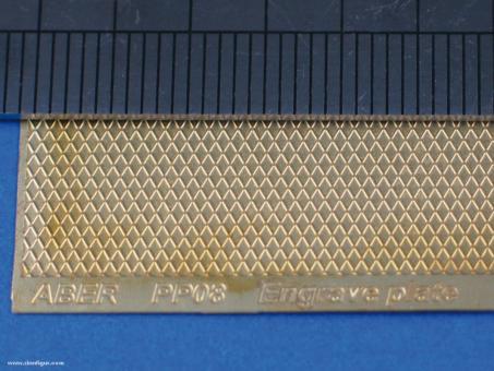 Riffelblech Muster 8 - 88 x 57 mm