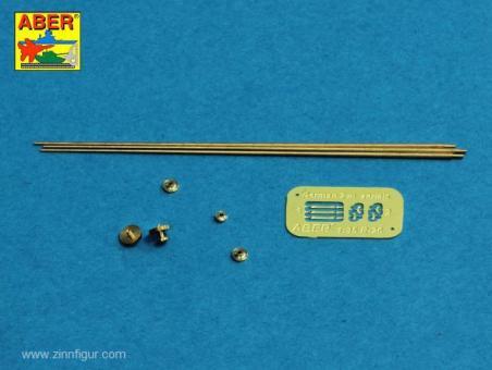 Deutsche 2m Antennen mit Ringsockel