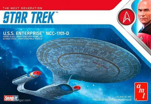 "USS Enterprise NCC-1701-D ""Star Trek"""