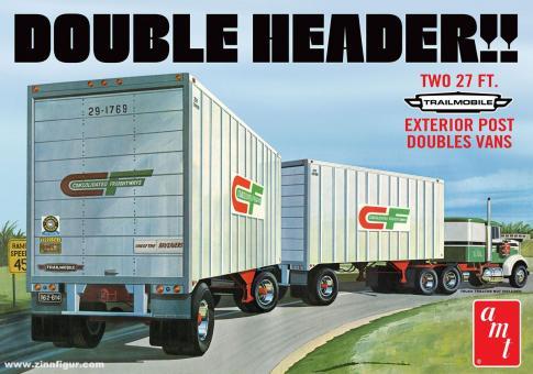 "Tandem-Anhänger ""Double Header!!"""