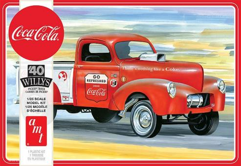 "1940 Willys Pickup Gasser ""Coca Cola"""
