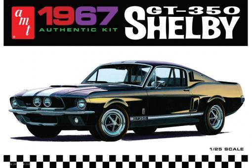 1967 Shelby GT-350 - Weißer Kunststoff