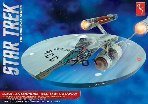 Star Trek USS Enterprise Schnittmodell