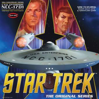 "Star Trek TOS Enterprise ""50. Jubiläum"""