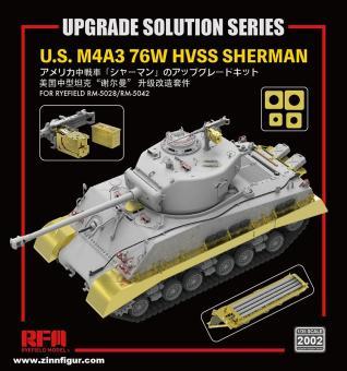 US M4A3 76W HVSS Sherman Upgrade Solution