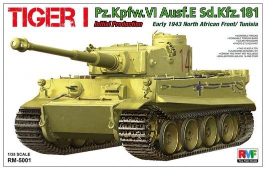 Tiger I Pz.Kpfw.VI Ausf.E Sd.Kfz. 181