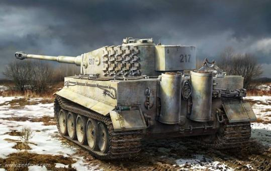 Tiger I mittlere Produktion mit Innendetails
