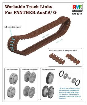 Panther Ausf.G mit Innendetails - Limited Edition