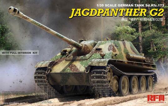 Jagdpanther G2 mit Innendetails