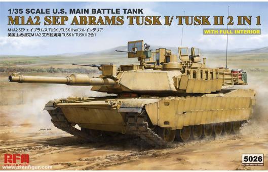 M1A2 TUSK I/TUSK II