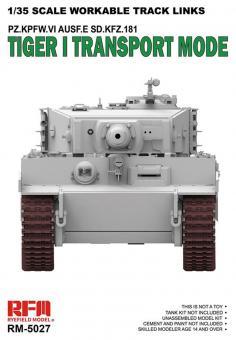 Tiger I Transportketten Kettenglieder-Set