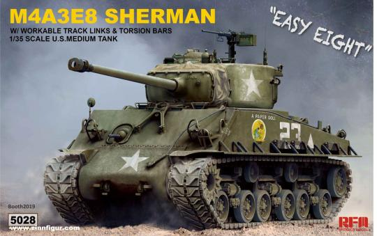 "M4A3E8 Sherman ""Easy Eight"""