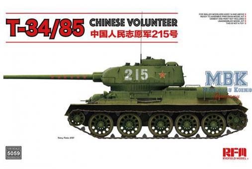 "T-34/85 No.183 Factory ""Chinesische Freiwillige"""