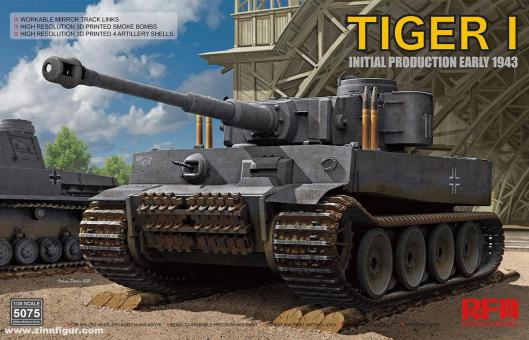 Tiger I 100# anfängliche Produktion - Anfang 1943