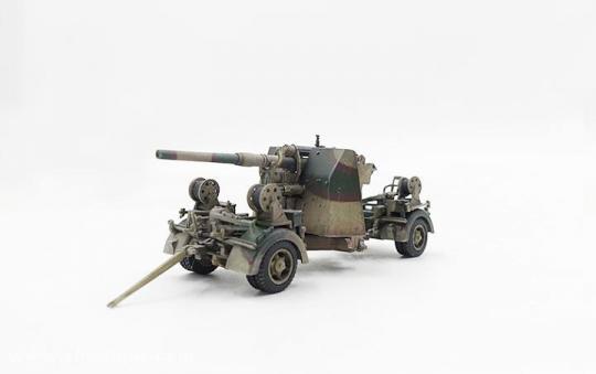 88mm Flak37 - Normandie 1944
