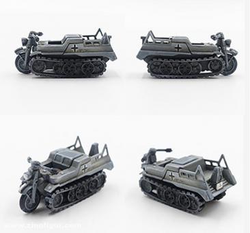 Kettenkrad und Wagen - 2. Panzer Division - 1940