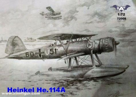Heinkel He 114A Float Plane