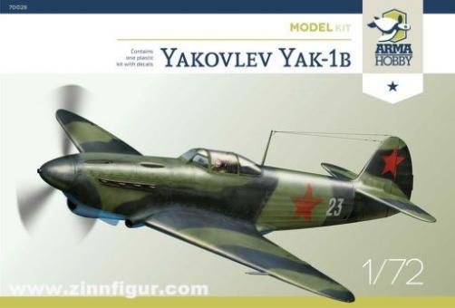 Yakovley Yak-1b - Model kit