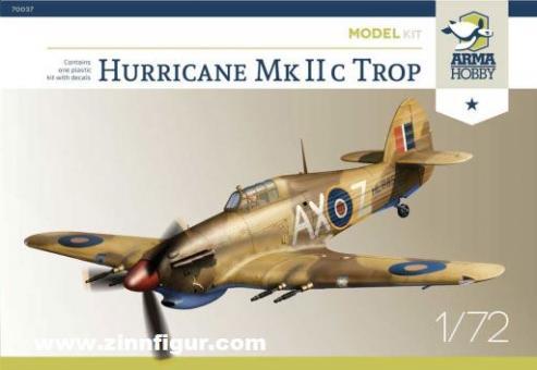 Hurricane Mk.IIc Trop - Model Kit