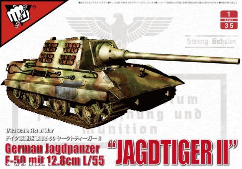 """E50 Jagdtiger mit 12,8 cm L/55 Kanone """"Fist of War"""""""