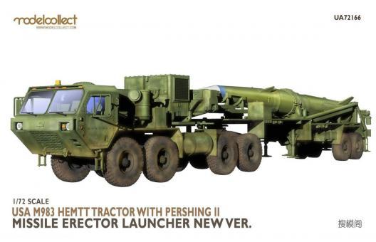 M983 HEMTT Traktor mit Pershing II Starter neue Version