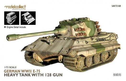 E-75 Schwerer Panzer mit 128 mm Kanone