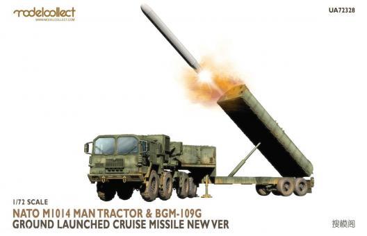NATO M1014 MAN Zugmaschine mit BGM-109G Marschflugkörperstarter Neue Version