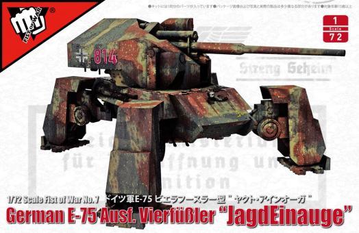 """E-75 Ausf.Vierfüßler """"JagdEinauge"""" - """"Fist of War"""""""