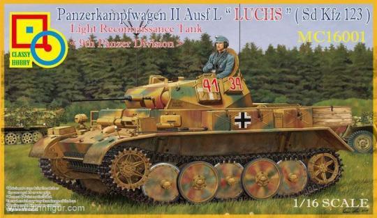 """Panzerkampfwagen II Ausf.L """"Luchs"""" (Sd.Kfz. 123)"""