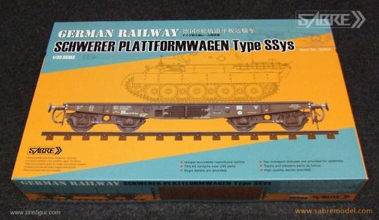 Schwerer Plattformwagen Typ SSys