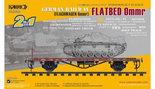 Deutscher Flachwagen Ommr