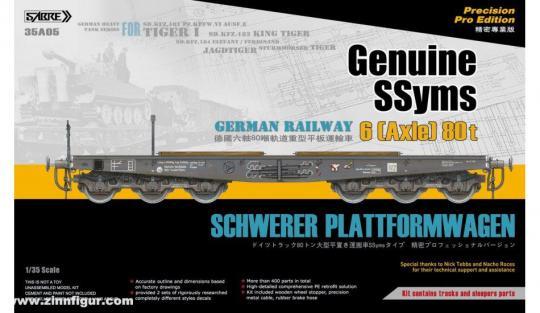 SSyms Schwerer Plattformwagen - Precision Pro Edition