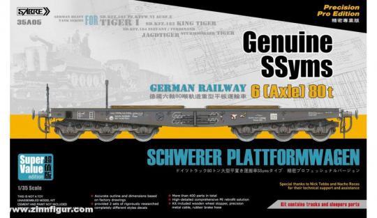 SSYMS Schwerer Plattformwagen - Super Value Edition