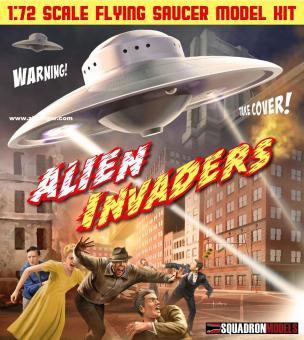 "Fliegende Untertasse ""Alien Invaders"""