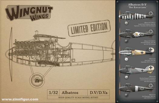 "Albatros D.V ""Die Bayern"" - Limited Edition"