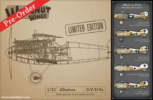 "Albatros D.Va ""Wooden Wonders"" - Limited Edition"