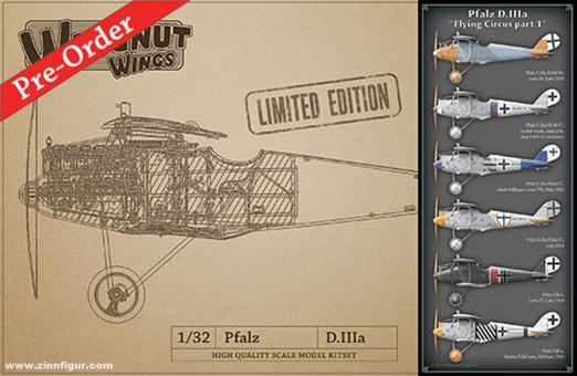 """Pfalz D.IIIa """"Flying Circus Teil 1"""" - Limited Edition"""