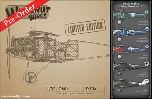 "Pfalz D.IIIa ""Flying Circus Part 2"" - Limited Edition"