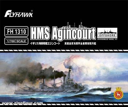 Schlachtschiff HMS Agincourt