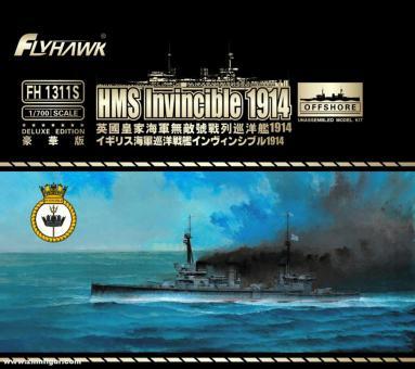 Schlachtkreuzer HMS Invincible 1914 - Deluxe Edition