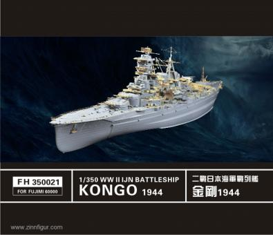 IJN Schlachtschiff Kongo 1944 Detailset