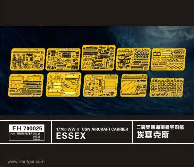 Flugzeugträger Essex Klasse Ätzteile