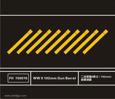 102 mm Geschützrohre