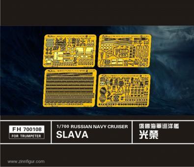 Russische Slava Klasse Kreuzer Detail Set
